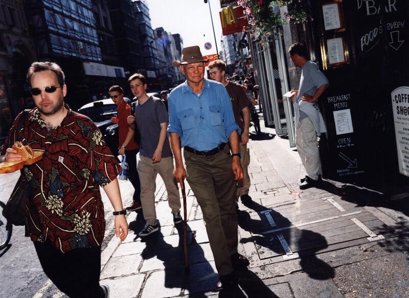 Herb Wharton, by Polly Borland, July 1999 - NPG x88442 - © Polly Borland