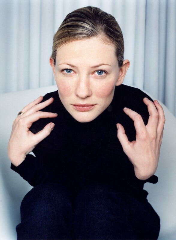Cate Blanchett, by Polly Borland, November 1999 - NPG x88445 - © Polly Borland