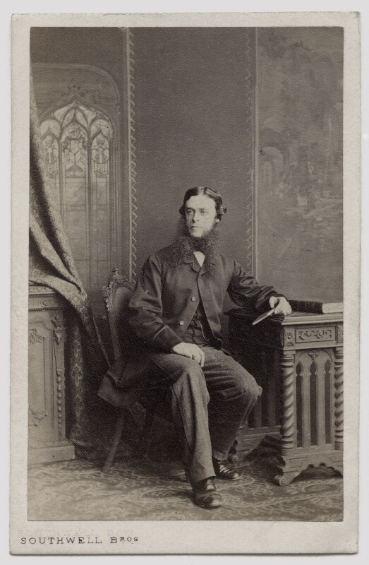 Walter Weld, by Southwell Brothers, 1862-1863 - NPG Ax46927 - © National Portrait Gallery, London