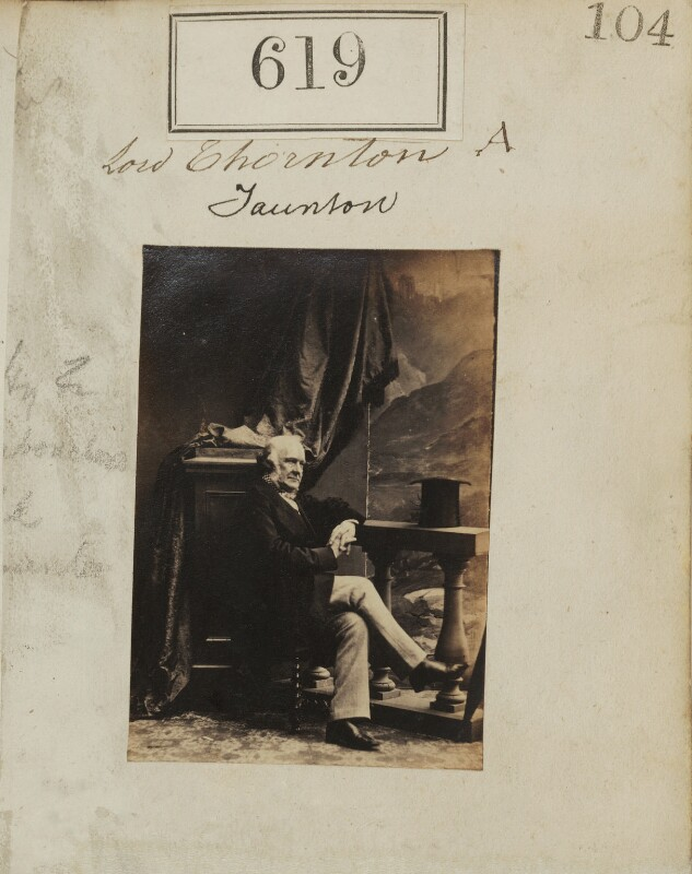 Henry Labouchere, Baron Taunton, by Camille Silvy, 1860 - NPG Ax50289 - © National Portrait Gallery, London