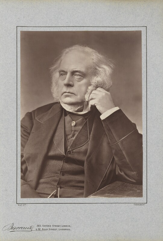 John Bright, by Herbert Rose Barraud, published by  Richard Bentley & Son, published 1888 - NPG Ax5409 - © National Portrait Gallery, London