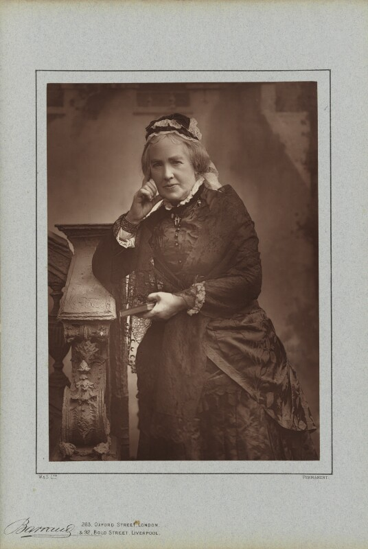 Catherine Gladstone (née Glynne), by Herbert Rose Barraud, published by  Richard Bentley & Son, published 1888 - NPG Ax5422 - © National Portrait Gallery, London