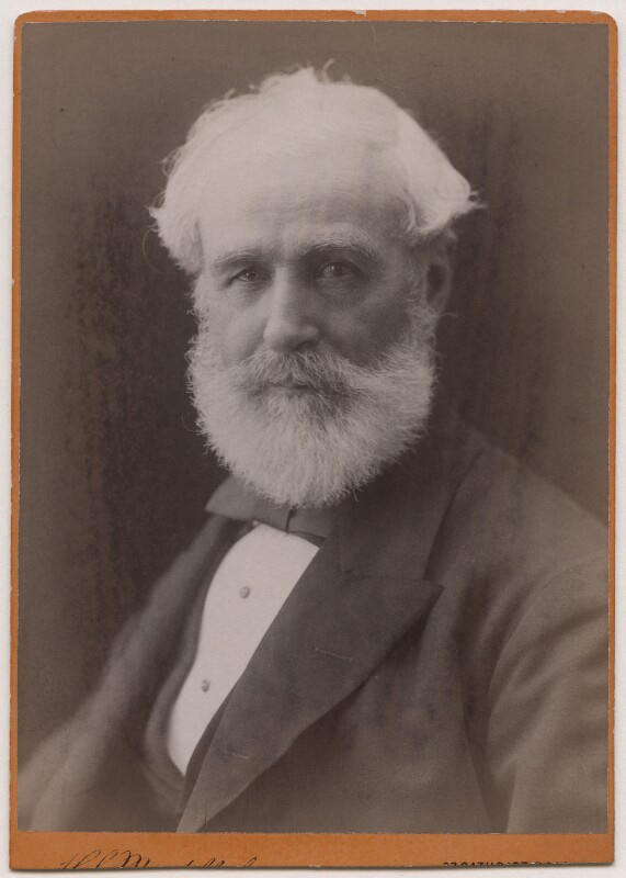 Sir Robert Rawlinson, by Hayman Seleg Mendelssohn, 1882-1887 - NPG Ax5563 - © National Portrait Gallery, London