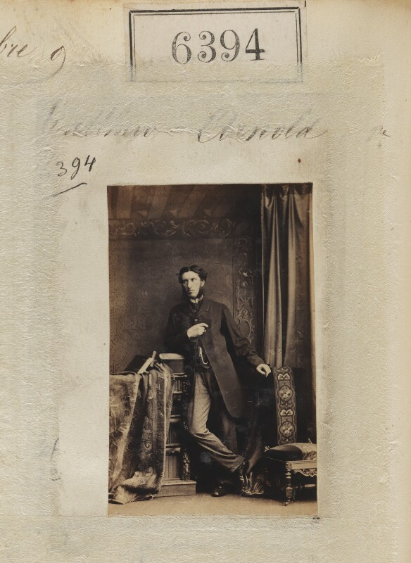 Matthew Arnold, by Camille Silvy, 9 November 1861 - NPG Ax56335 - © National Portrait Gallery, London