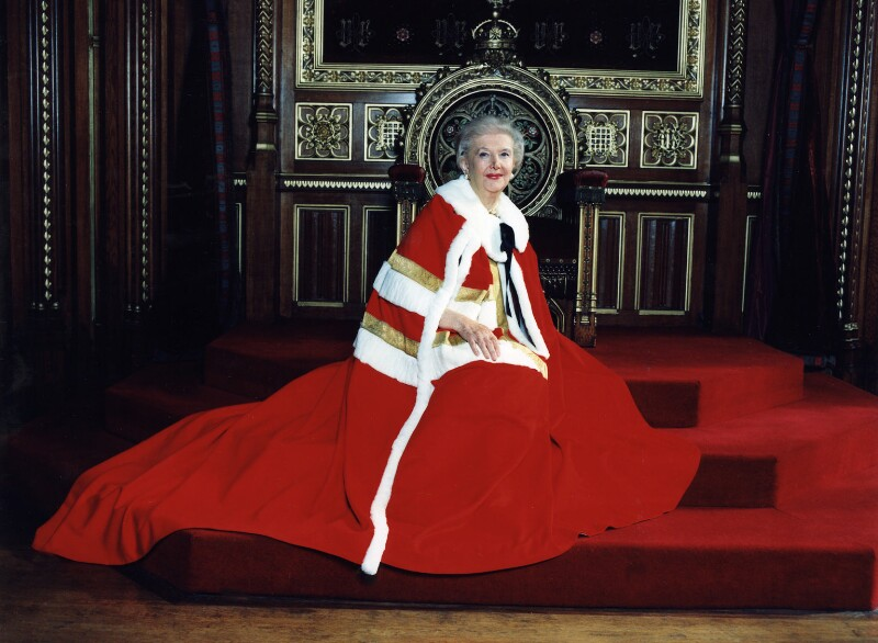 Rachel Trixie Anne Gardner, Baroness Gardner of Parkes, by Polly Borland, October 1999 - NPG x88465 - © Polly Borland