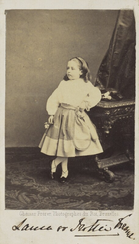 Laura Ellen Flora Beresford (née Keane), by Ghémar Frères, early 1860s - NPG Ax68038 - © National Portrait Gallery, London
