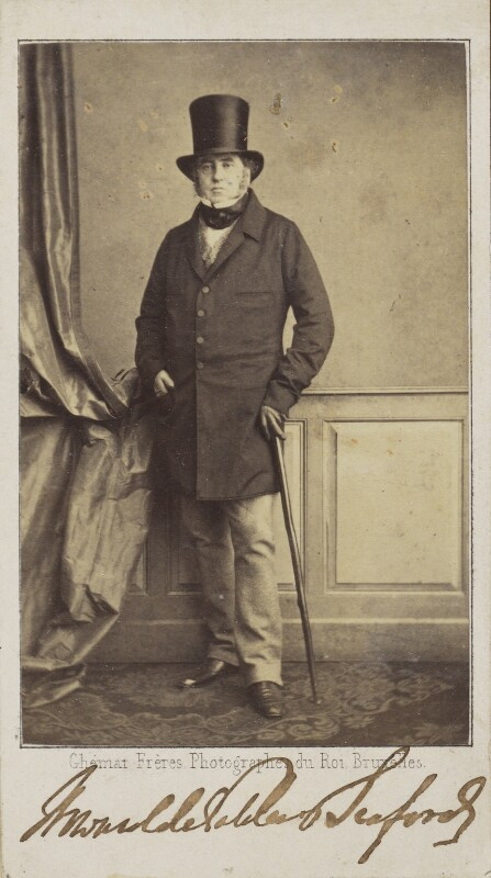 Charles Augustus Ellis, 6th Baron Howard de Walden, by Ghémar Frères, early 1860s - NPG Ax68041 - © National Portrait Gallery, London
