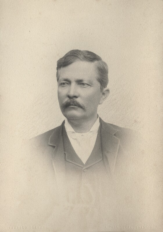 Sir Henry Morton Stanley, by Edmund John Passingham, 1886 - NPG Ax68634 - © National Portrait Gallery, London