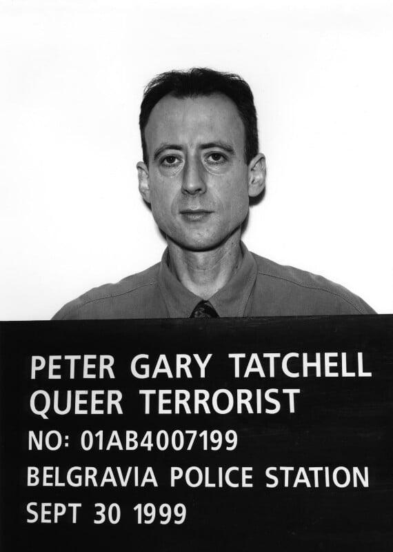 Peter Tatchell, by Polly Borland, November 1999 - NPG x88486 - © Polly Borland