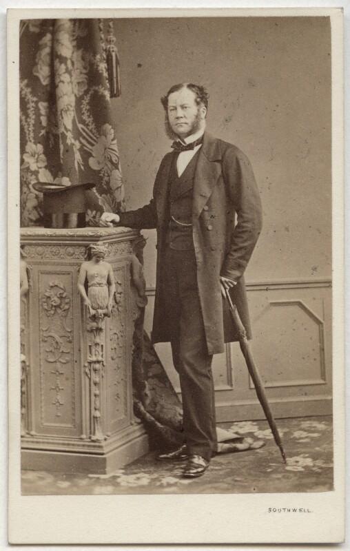 Charles Henry Gordon-Lennox, 6th Duke of Richmond, 6th Duke of Lennox and 1st Duke of Gordon, by Southwell Brothers, 1862-1863 - NPG Ax7407 - © National Portrait Gallery, London