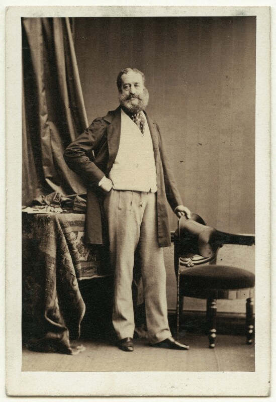 Henry Paget, 2nd Marquess of Anglesey, by Camille Silvy, 23 July 1861 - NPG Ax7420 - © National Portrait Gallery, London