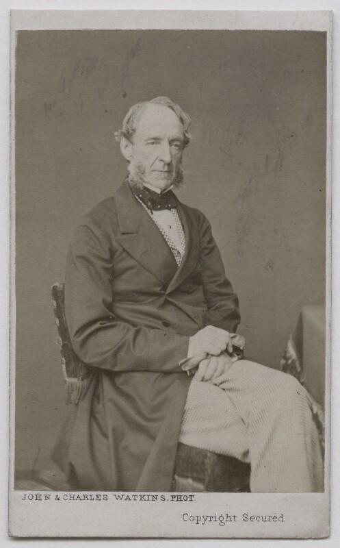 Robert Grosvenor, 1st Baron Ebury, by John & Charles Watkins, 1865-1870 - NPG Ax7428 - © National Portrait Gallery, London
