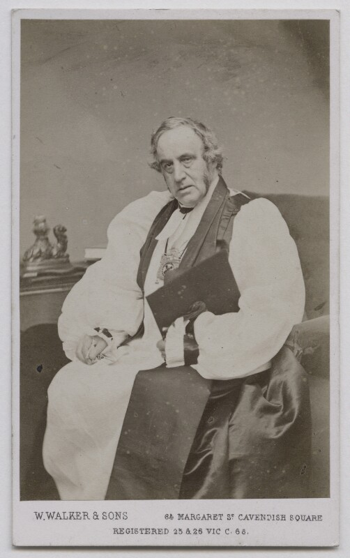 Richard Chenevix Trench, by William Walker & Sons, 1862-1866 - NPG Ax7457 - © National Portrait Gallery, London