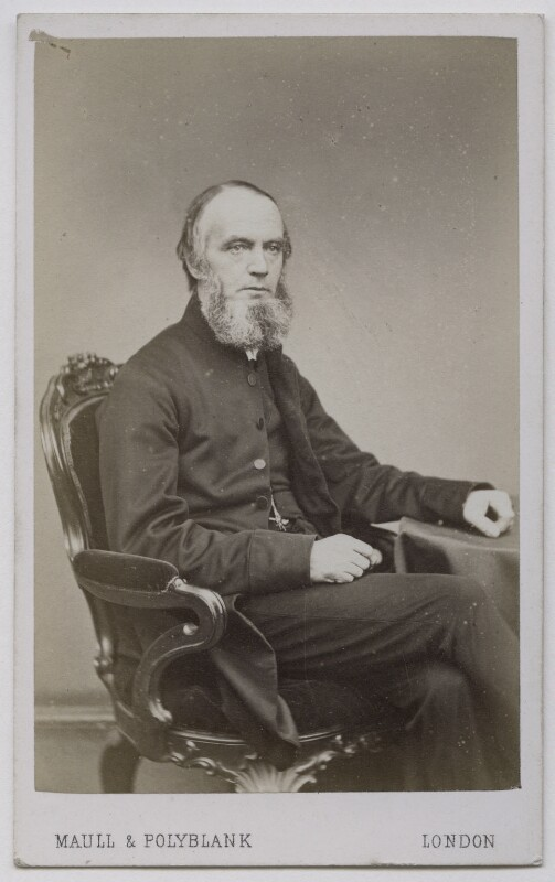 Henry Alford, by Maull & Polyblank, 1864-1865 - NPG Ax7484 - © National Portrait Gallery, London