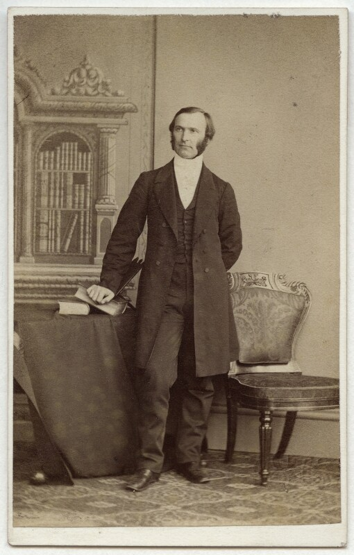 Frederick Temple, by Thomas Rodger, 1860s - NPG Ax7486 - © National Portrait Gallery, London
