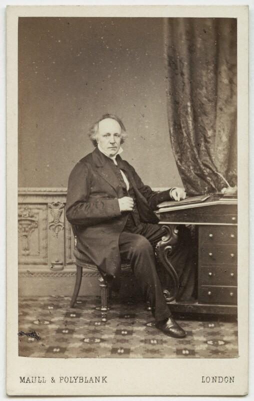 Thomas Binney (Benny), by Maull & Polyblank, 1864-1865 - NPG Ax7496 - © National Portrait Gallery, London