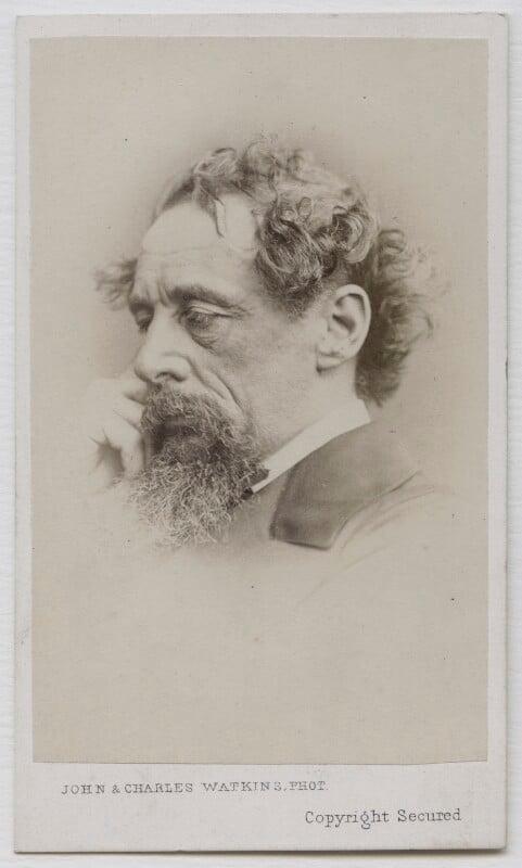 Charles Dickens, by John & Charles Watkins, September 1863 - NPG Ax7508 - © National Portrait Gallery, London