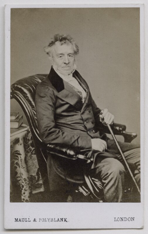 George Grote, by Maull & Polyblank, 1860-1865 - NPG Ax7519 - © National Portrait Gallery, London