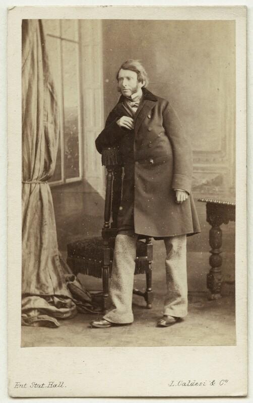 John Ruskin, by Leonida Caldesi, 1862 - NPG Ax7533 - © National Portrait Gallery, London