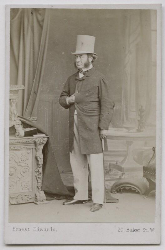 John Thadeus Delane, by Ernest Edwards, 1863-1867 - NPG Ax7538 - © National Portrait Gallery, London
