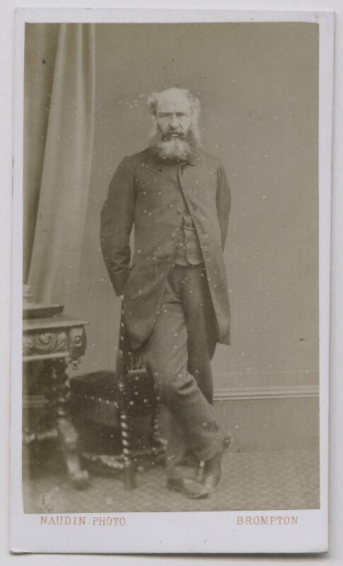 Anthony Trollope, by Adolphe Naudin, 1865 - NPG Ax7541 - © National Portrait Gallery, London