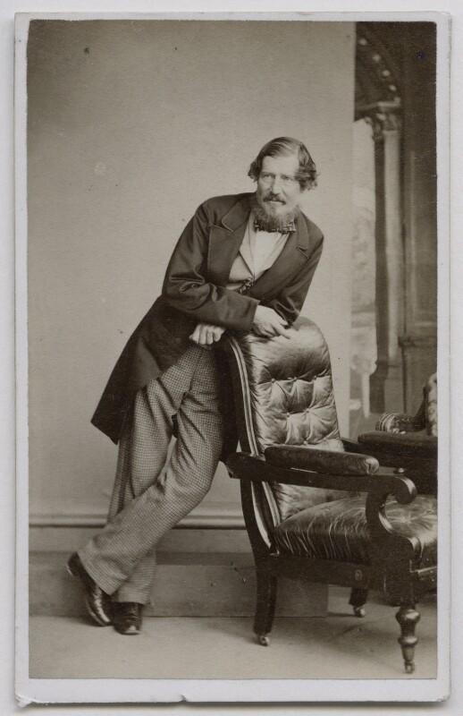 William Edmondstoune Aytoun, by Thomas Rodger, 1860-1865 - NPG Ax7542 - © National Portrait Gallery, London