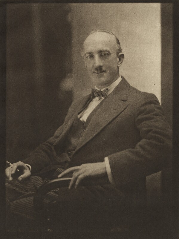 Percy Izod, by Emil Otto ('E.O.') Hoppé, 17 July 1922 - NPG Ax76124 - © 2017 E.O. Hoppé Estate Collection / Curatorial Assistance Inc.