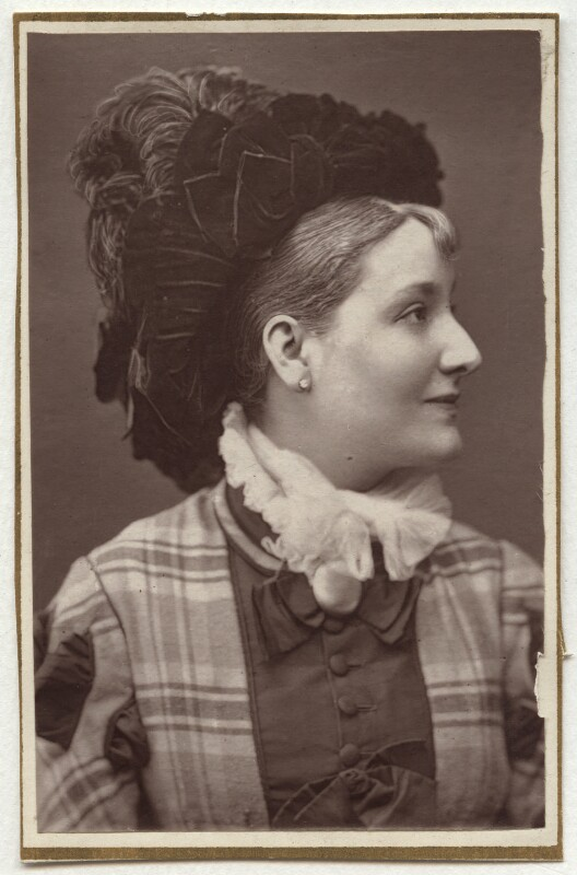 Louise Henderson, by Unknown photographer, 1870s - NPG Ax7644 - © National Portrait Gallery, London