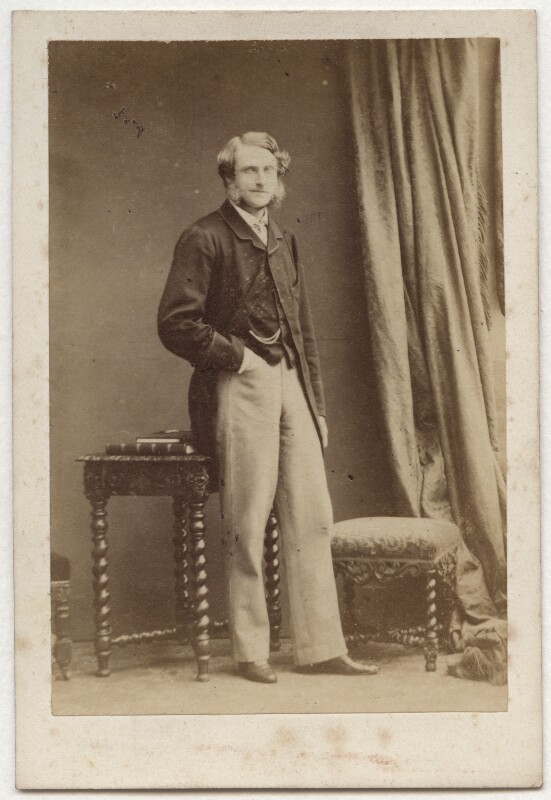 Gilbert Henry Heathcote-Drummond-Willoughby, 1st Earl of Ancaster, by Camille Silvy, 1860 - NPG Ax77066 - © National Portrait Gallery, London