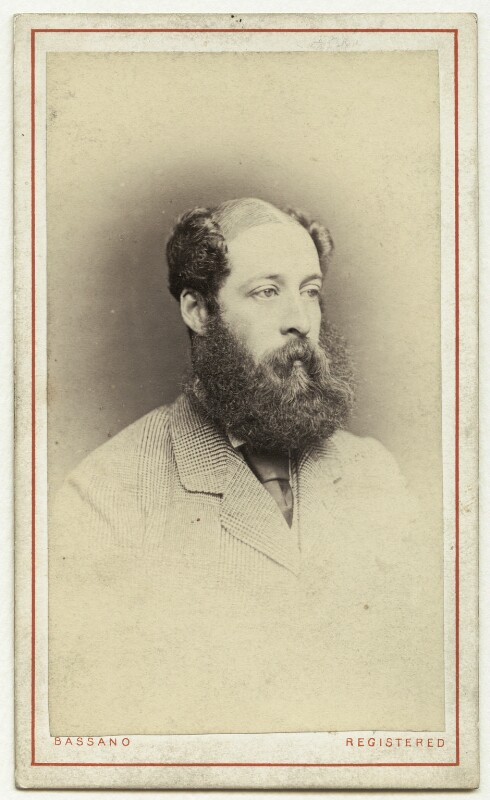 Henry Paget, 4th Marquess of Anglesey, by Alexander Bassano, mid 1860s-mid 1870s - NPG Ax77138 - © National Portrait Gallery, London