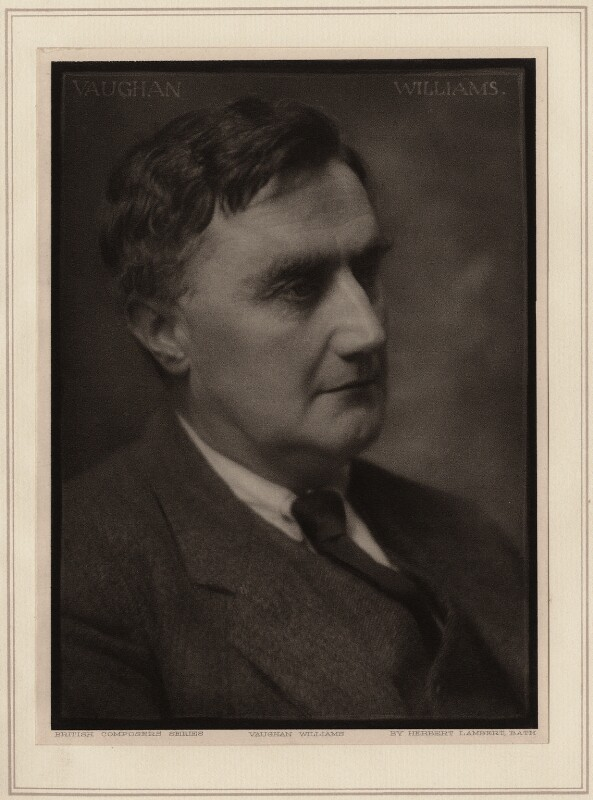 Ralph Vaughan Williams, by Herbert Lambert, early 1920s - NPG Ax7744 - © National Portrait Gallery, London