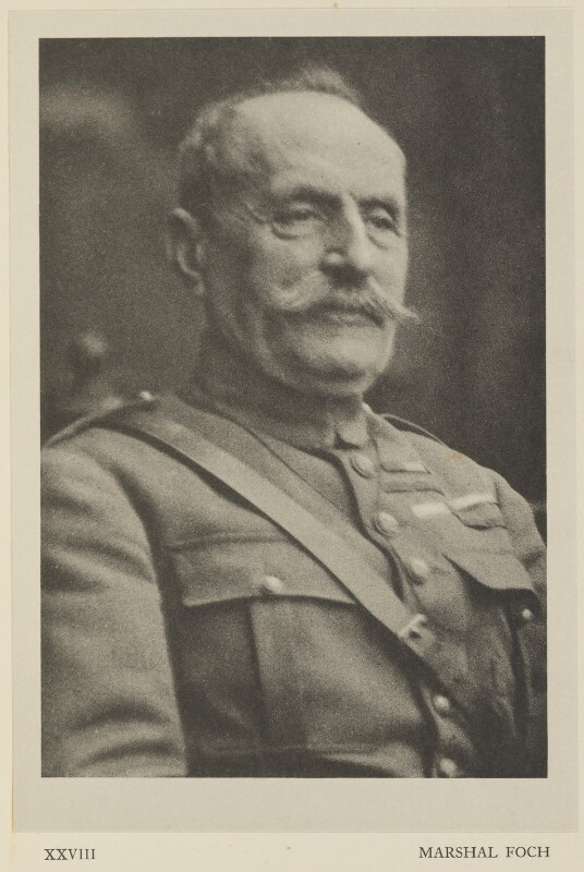 Ferdinand Foch, by Alvin Langdon Coburn, published by  Duckworth & Co, 2 December 1918 - NPG Ax7870 - © The Universal Order