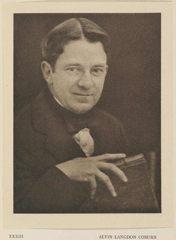 Alvin Langdon Coburn, by Alvin Langdon Coburn, published by  Duckworth & Co, 19 May 1922 - NPG Ax7875 - © The Universal Order