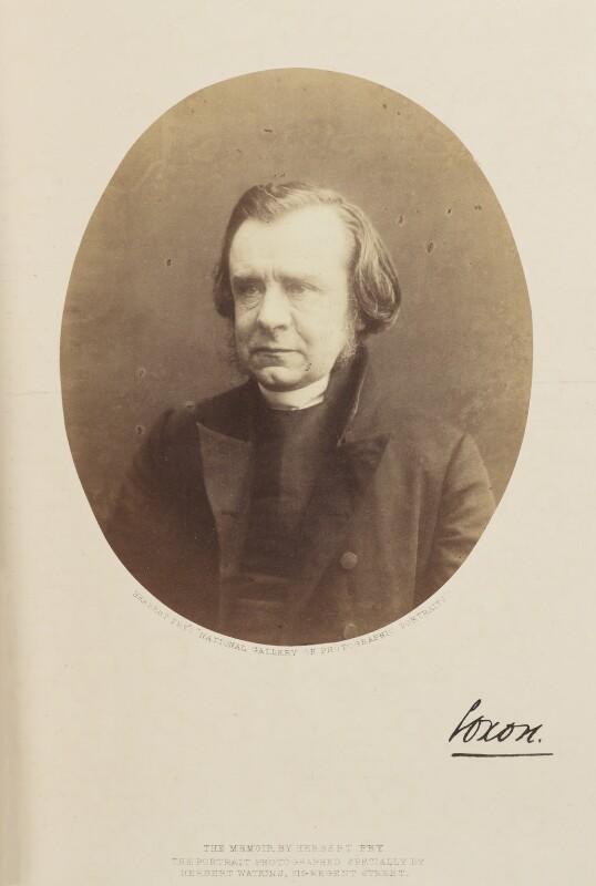 Samuel Wilberforce, by (George) Herbert Watkins, 1857 - NPG Ax7908 - © National Portrait Gallery, London