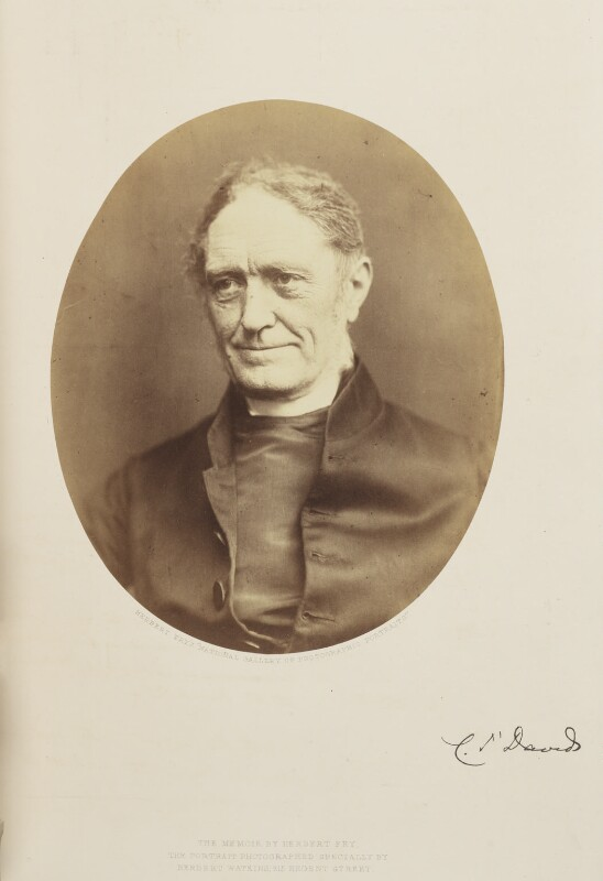 (Newell) Connop Thirlwall, by (George) Herbert Watkins, 1858 - NPG Ax7912 - © National Portrait Gallery, London