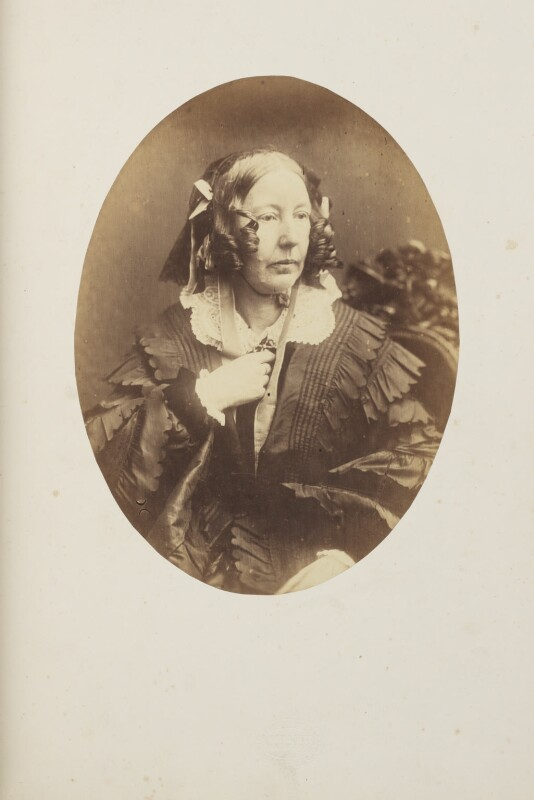 Louisa Stuart Costello, by Herbert Watkins, 1857 - NPG Ax7922 - © National Portrait Gallery, London