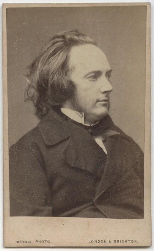 George Douglas Campbell, 8th Duke of Argyll, by John Jabez Edwin Mayall, after 1867 - NPG Ax8527 - © National Portrait Gallery, London