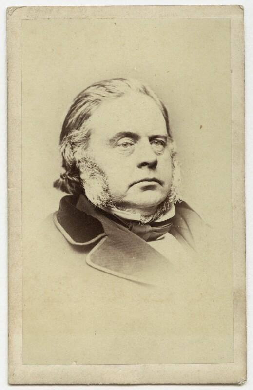 John Bright, by Henry Joseph Whitlock, 1860s - NPG Ax8538 - © National Portrait Gallery, London