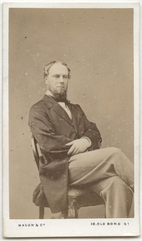 John Wodehouse, 1st Earl of Kimberley, by Mason & Co (Robert Hindry Mason), mid 1860s-early 1870s - NPG Ax8552 - © National Portrait Gallery, London