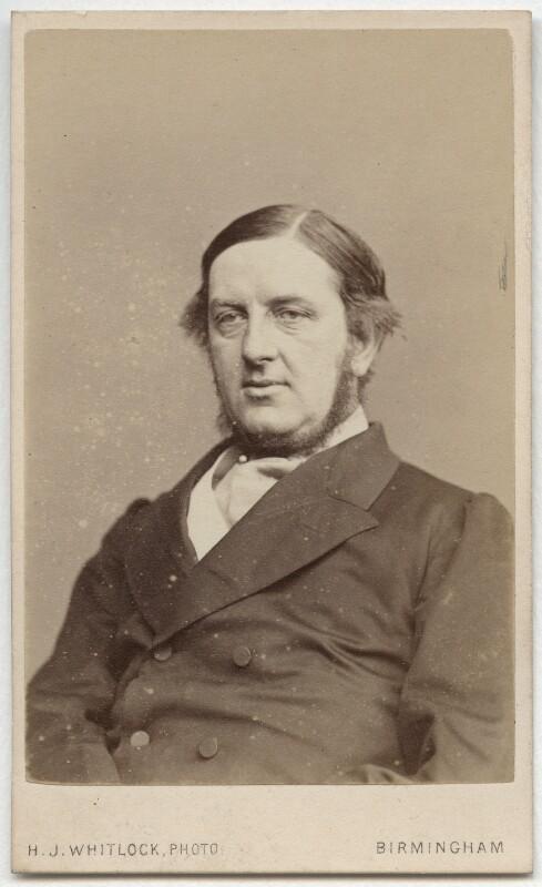 Sir William Vernon Harcourt, by Henry Joseph Whitlock, 1860s - NPG Ax8560 - © National Portrait Gallery, London