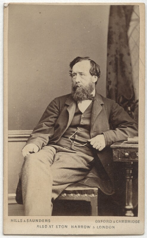 Sir Thomas Dyke Acland, 11th Bt, by Hills & Saunders, 1860s-1870s - NPG Ax8571 - © National Portrait Gallery, London