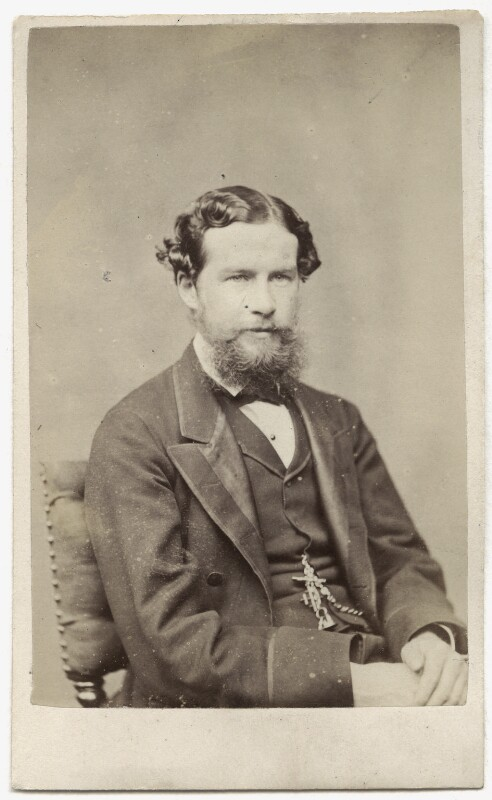 John Lubbock, 1st Baron Avebury, by Henry Joseph Whitlock, 1865 - NPG Ax8576 - © National Portrait Gallery, London