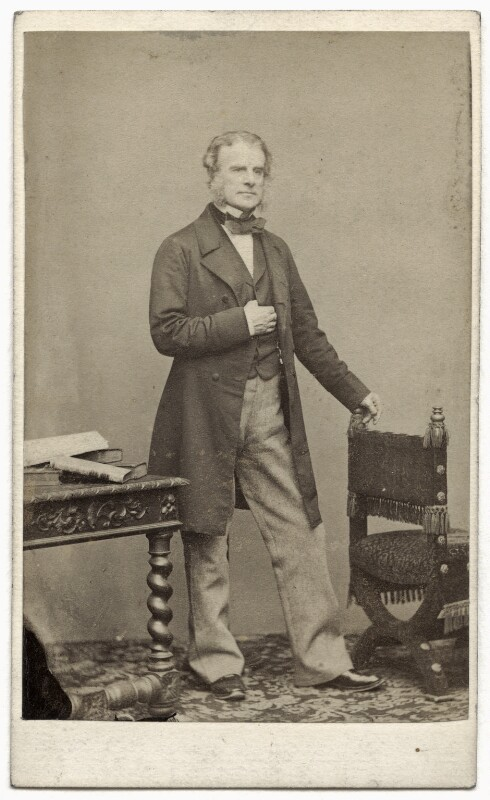 John Wilson-Patten, Baron Winmarleigh, by Charles Allen Duval, 1863 - NPG Ax8610 - © National Portrait Gallery, London