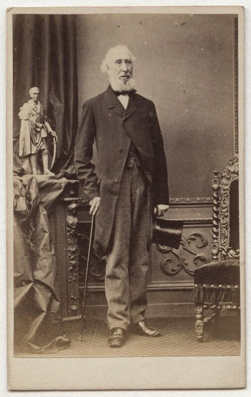 Sir William Verner, 1st Bt, by James Magill, 1860s - NPG Ax8662 - © National Portrait Gallery, London