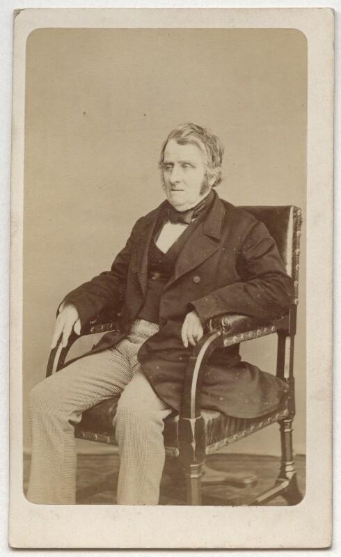 John Arthur Roebuck, by W. & D. Downey, 1865 - NPG Ax8664 - © National Portrait Gallery, London