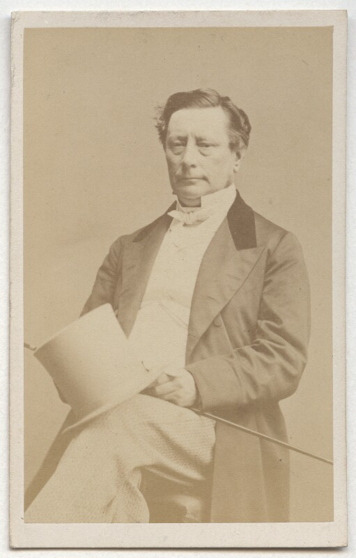 Sir (Samuel) Morton Peto, 1st Bt, by John Beattie, 1865 - NPG Ax8670 - © National Portrait Gallery, London