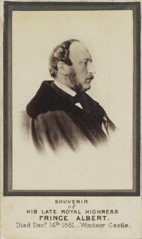 Prince Albert of Saxe-Coburg-Gotha, by Oscar Gustav Rejlander, circa 1861 (1857 or 1861) - NPG Ax9744 - © National Portrait Gallery, London