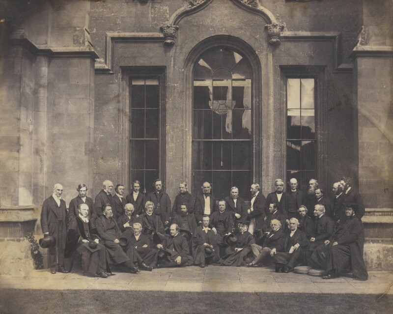Group at the Church Congress, by Unknown photographer, 12 July 1862 - NPG Ax9596 - © National Portrait Gallery, London