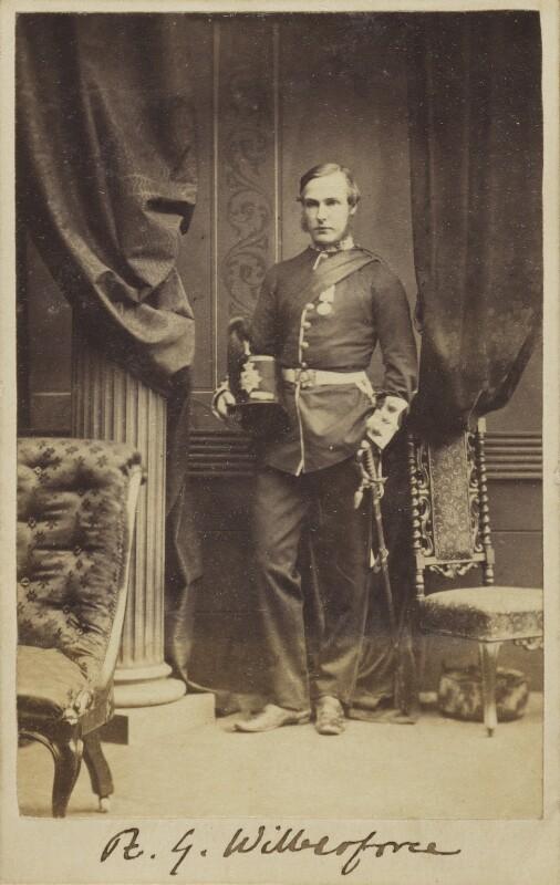 Reginald Garton Wilberforce, by Unknown photographer, circa 1861 - NPG Ax9775 - © National Portrait Gallery, London