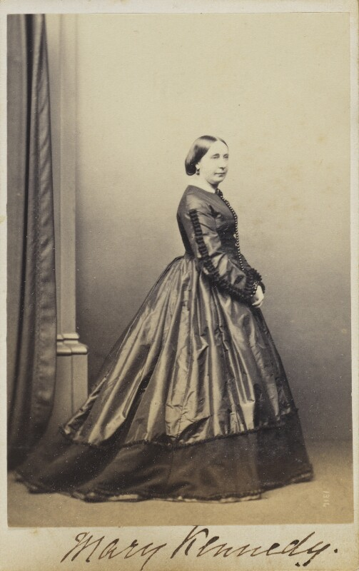 Mary Kennedy, by Unknown photographer, 1860s-1870s - NPG Ax9889 - © National Portrait Gallery, London